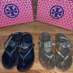 Tory Burch Sandals Bundle (comes with 2)